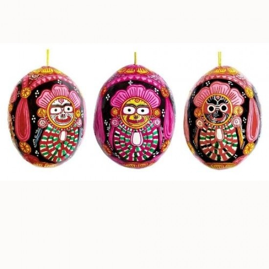 Coconut Shell Jagannath Statue