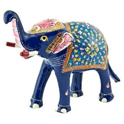 Lacquer Elephant Statue
