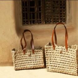 Sabai Grass Jali Bag