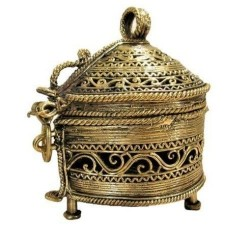 Dhokra Jewellery Box