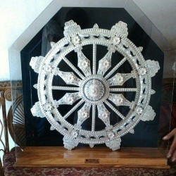 Silver Konark Wheel